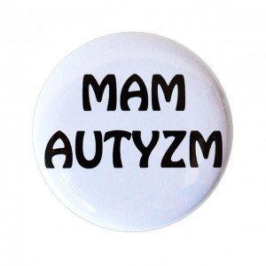Button Mam autyzm 56 mm